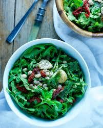 creamy bean pesto arugula salad food made easy