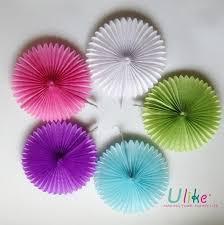Flower Designs On Paper 10 U0027 U0027 50ps Lot Free Shipping Honeycomb Flower Lantern Fan Design