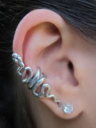 earring cuffs snake ear cuff jewelry