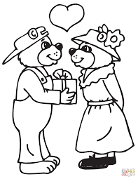 sock monkeys in love coloring page free printable coloring pages
