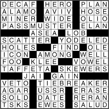 easy crossword puzzles about movies crossword puzzle answers march 1 2017