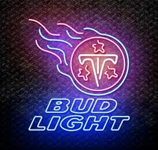bud light nfl neon sign bud light nfl tennessee titans neon sign for sale neonstation
