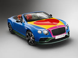 tiffany blue bentley peter blake creates special bentley for a benefit auction pursuitist