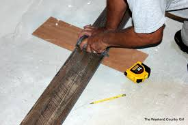 how to install vinyl plank flooring the weekend country