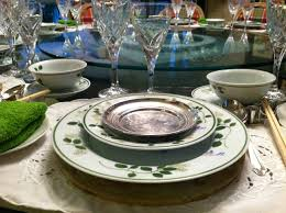 creative table settings for home parties u2013 lesson 1 gourmand chic