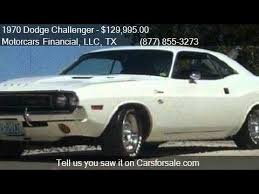 white dodge challenger for sale 1970 dodge challenger vanishing point r t coupe for sale in