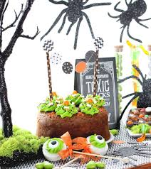 small halloween party halloween party dessert display tips the bakers party shop