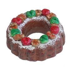 fruit cake ornament