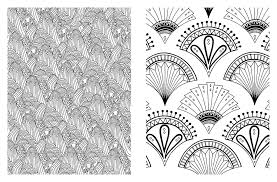 fancy inspiration ideas coloring designs flowers paisley