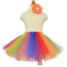 sale rainbow tutu baby tutu skirt elastic fluffy