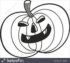halloween halloween pumpkin coloring book stock