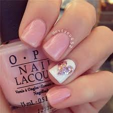 White Pink Nail 45 Pretty Pink Nail Designs For Creative Juice