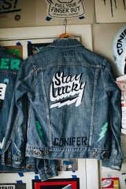 lucky brand and ornamental conifer limited edition jackets