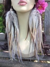 owlita earrings wrist cuffs blue feather fur costume accessory faux fur owl