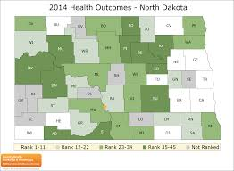 Map North Dakota North Dakota Rankings Data County Health Rankings U0026 Roadmaps
