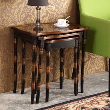 table sets for living room coffee table set retro hand painted side tables on end table sets