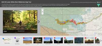 Oregon Blm Maps by The Bureau Of Land Management Uses Esri Story Maps To Encourage