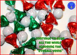 hoopla palooza santa and elf chocolates from hershey kisses