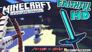 Minecraft Pe Maps Ios Minecraft Pe 1 2 Faithful Hd Pvp Texture Pack Ios Android