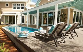 pool decks above ground pool deck ideas u0026 pictures trex