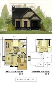 small floor plans cottages small cottage with loft plans house for cabins lofts log home cabin