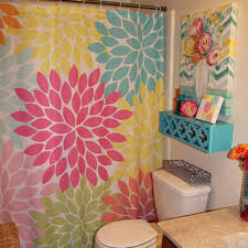 Custom Bathroom Shower Curtains Shower Curtain Monogram Flowers Custom From Honeydesignstudio On