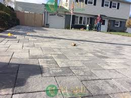 Interlocking Patio Pavers Lowes Others Large Concrete Pavers For Quickly Create A Patio With A