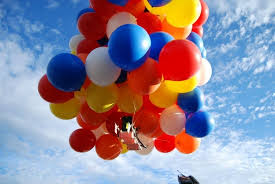 balloons for men bad weather deters men from lawn chair ballooning the sue