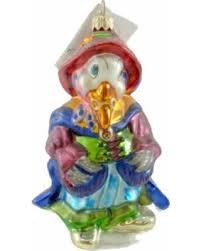 spectacular deal on christopher radko goose ornament blown