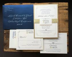 wedding invitations kent navy wedding invite etsy