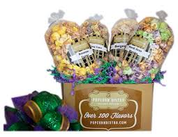 new orleans gift baskets unique new orleans style sweet popcorn corporate gift box