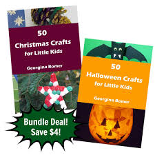 50 halloween crafts u0026 50 christmas crafts deal craftulate