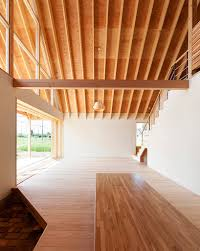 gabled timber home in saitama prefecture tailored design lab
