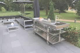 cuisine exterieure beton charmant cuisine exterieure beton photos de conception plan travail