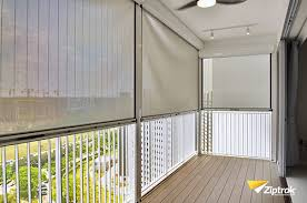 Track Guided Outdoor Blinds Ziptrak Singapore Genuine Quality Zip Blinds From Australia