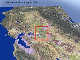 san francisco delta map experts fear impacts of quake on delta