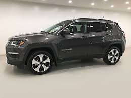 jeep compass granite crystal new 2018 jeep compass north 4x4 sunroof navigation sport