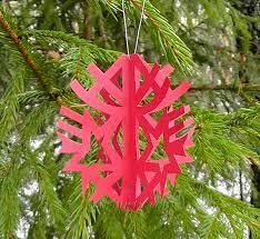 paper xmas tree decorations