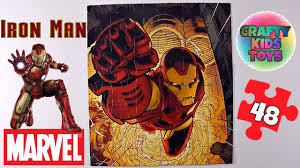 ironman jigsaw puzzle 48 pieces marvel universe super hero puzzle