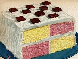 square dance party cake 1950 click americana