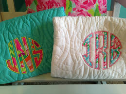 lilly pulitzer fabric monogram bedding quilt comforter and