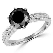 black diamonds rings images Colored diamonds canada bijoux majesty jpg