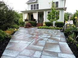 concrete patio ideas for small backyards backyard design and