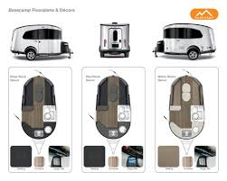 Airstream Travel Trailers Floor Plans by 2017 Airstream Travel Trailer Basecamp Brochure Rv Literature