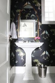 Wallpaper Ideas For Bathroom Bathroom Excellent Powder Room With Bathroom Wallpaper Also