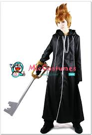 Kingdom Hearts Halloween Costumes Kingdom Hearts Organization Xiii Roxas Cosplay Costume Sale