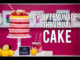 cake how to how to make a pink lemonade mega cake beyoncé inspired visual