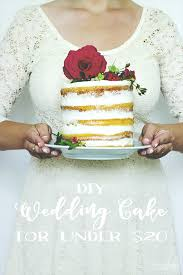 wedding cake diy diy layered wedding cake for 20 we lived happily