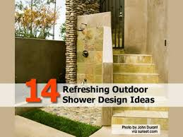 Outdoor Shower Ideas by 14 Refreshing Outdoor Shower Design Ideas