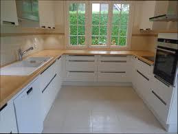 modele cuisine blanche cuisine bois modele cuisine blanche et bois